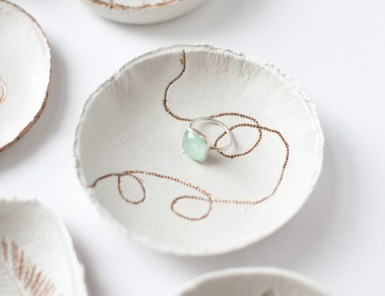 DIY Clay Bowls by Claire Zinnecker | photos by Kate Stafford for Camille Styles