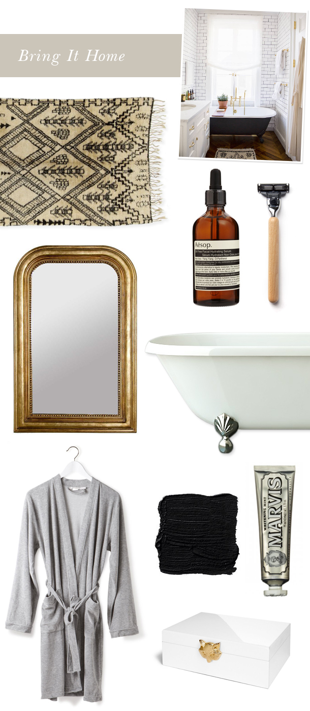 clawfoot bathtub inspiration | fuji files for camille styles