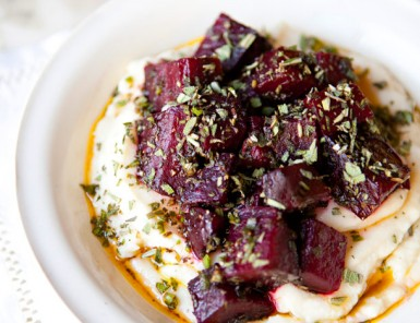 Celery Root Puree with Herbed Beets | A House in the Hills for Camille Styles
