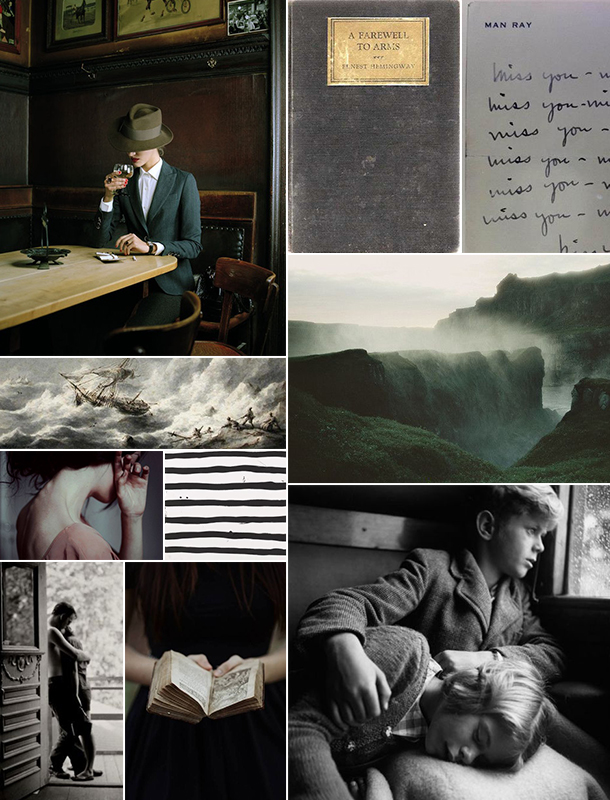 Stormy Weather Inspiration Board | Camille Styles