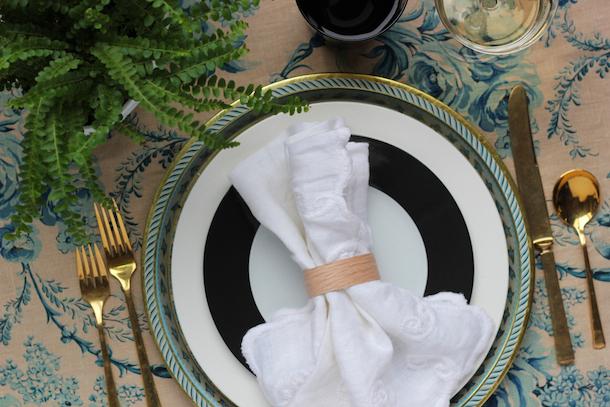 DIY Modern Wood Napkin Rings by Hank & Hunt   Camille Styles