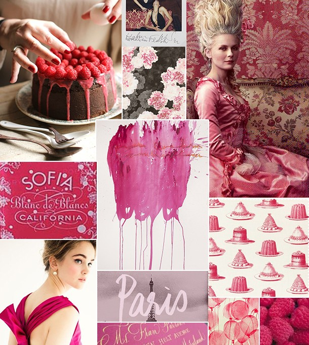 Raspberry Inspiration Board | Camille Styles