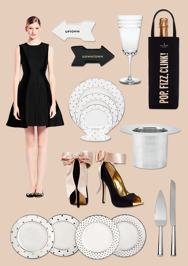kate spade new york hostess style | Camille Styles