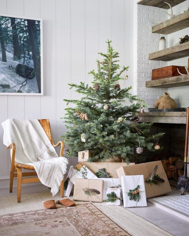 best simple natural christmas tree