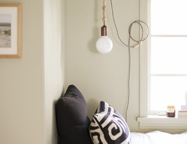 DIY Beaded Pendant by Claire Zinnecker | photos by Chelsea Fullerton for Camille Styles