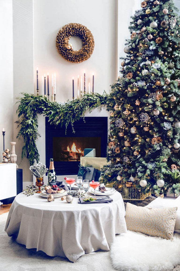classic holiday living room decor best christmas trees