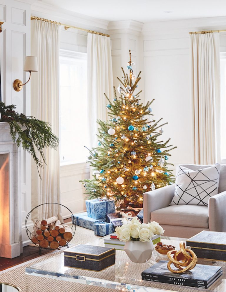 blue and white best christmas trees