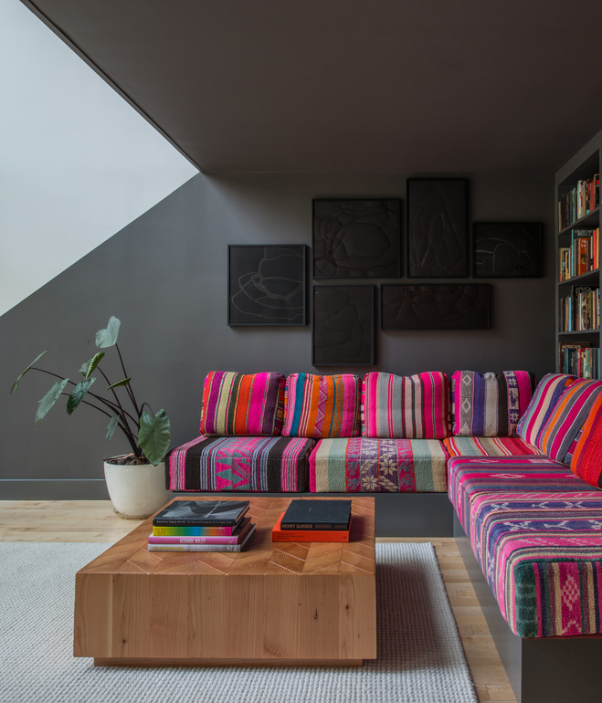 bring it home technicolor dream couch camille styles rh camillestyles com
