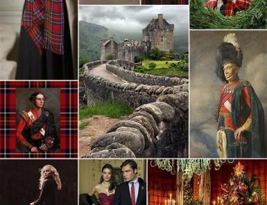 Tartan Christmas Inspiration Board | Camille Styles