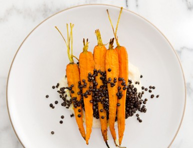 Tumeric Roasted Carrots and Parsnip Puree | A House in the Hills for Camille Styles