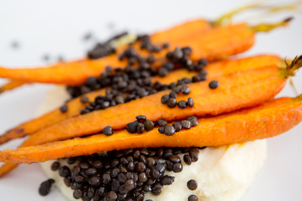 Tumeric Roasted Carrots and Parsnip Puree | A House in the Hills for ...