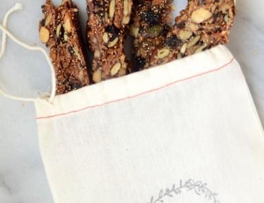 Vegan Gluten-Free Granola Bar Recipe | Camille Styles