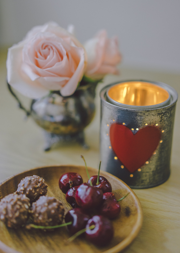 DIY Tin Can Valentine's Votive | photo by Chad Wadsworth for Camille Styles