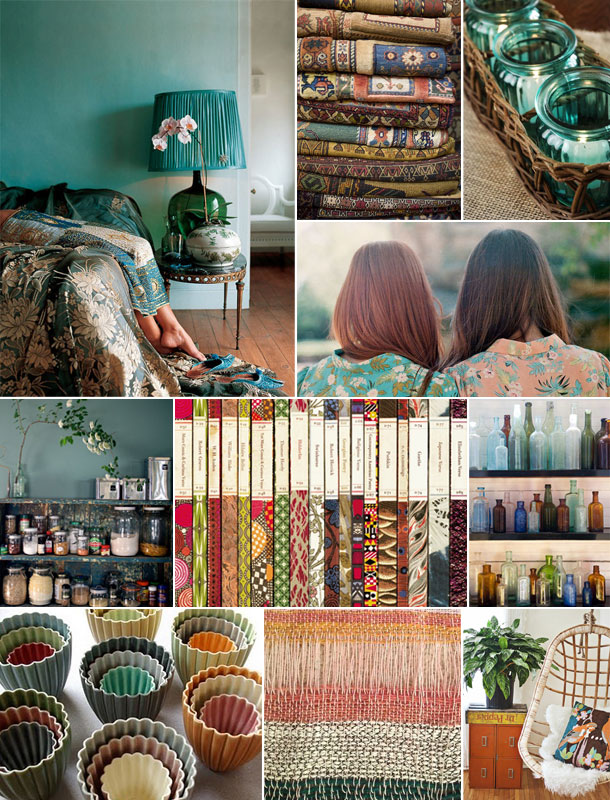Boho Inspiration Board | Camille Styles