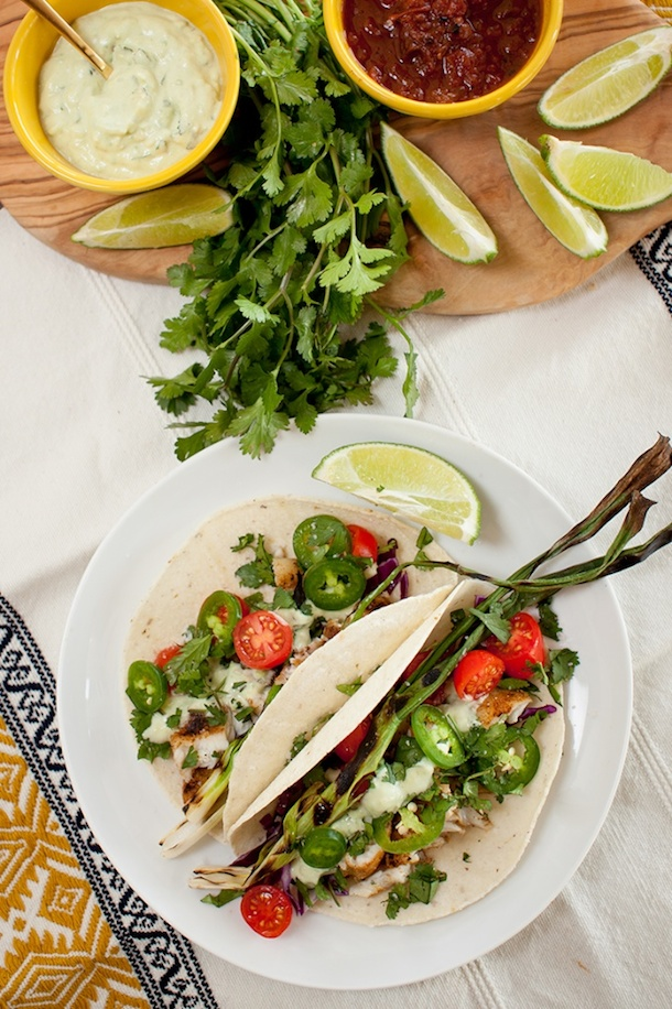 Fish Tacos | Camille Styles