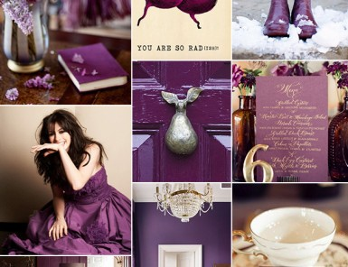 Plum Inspiration Board | Camille Styles