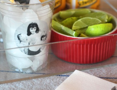 Birthday Solo Cup DIY Using Contact Paper | Camille Styles