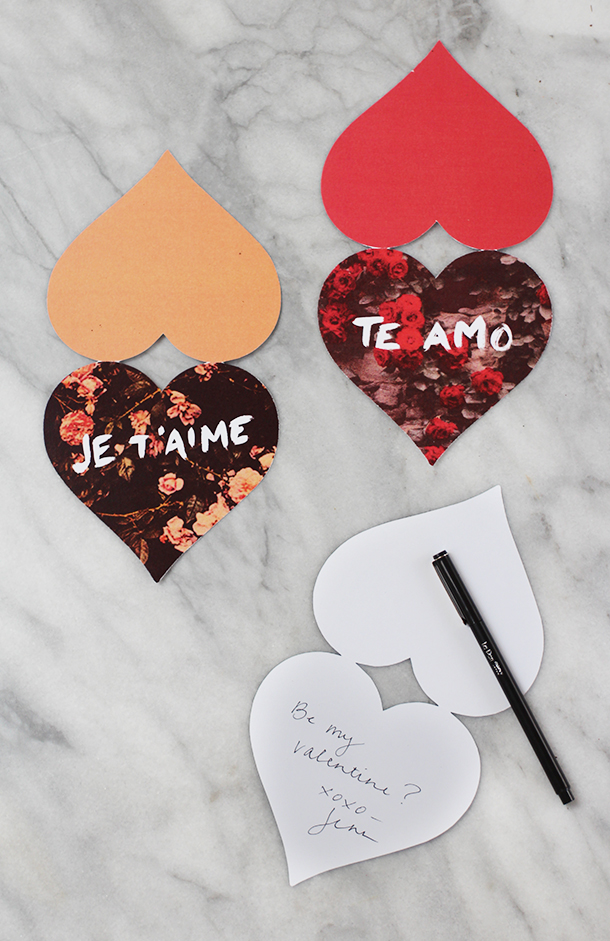 Free Printable Valentines | Camille Styles