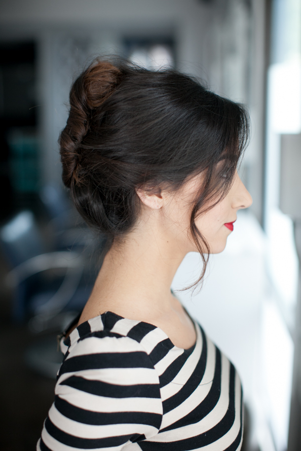 Pretty Simple French Twist Camille Styles