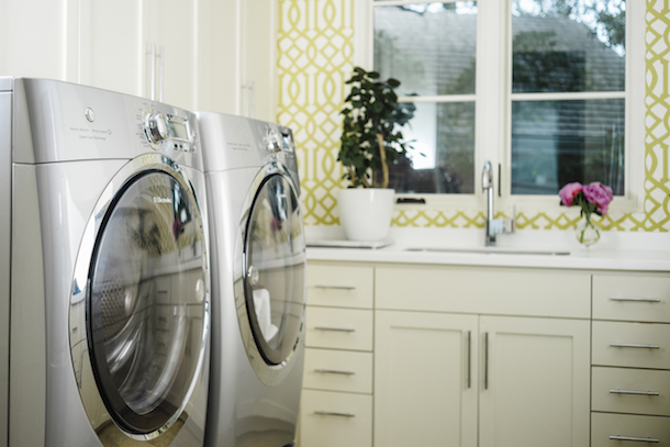 How to Organize the Laundry Room | Camille Styles