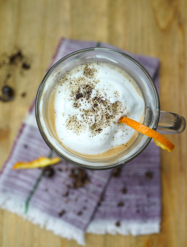 Latte with Bailey's and Orange | Camille Styles