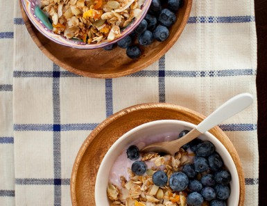 Toasted Coconut Muesli, photo by Melanie Grizzel | Camille Styles