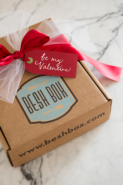 Valentine's Day with Besh Box | Camille Styles