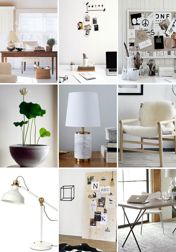 Camille's Office Inspiration | Claire Zinnecker for Camille Styles