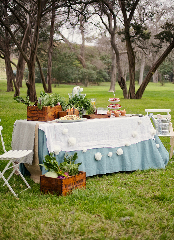Beatrix Potter Inspired Easter Party | Camille Styles | Photos by Kate LeSueur for Food Network