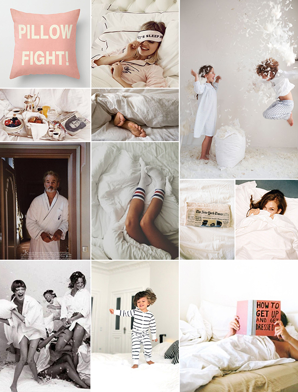 Monochromatic Monday :: Hit Snooze | Camille Styles