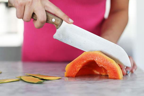 Mango Papaya Smoothie Recipe   Camille Styles