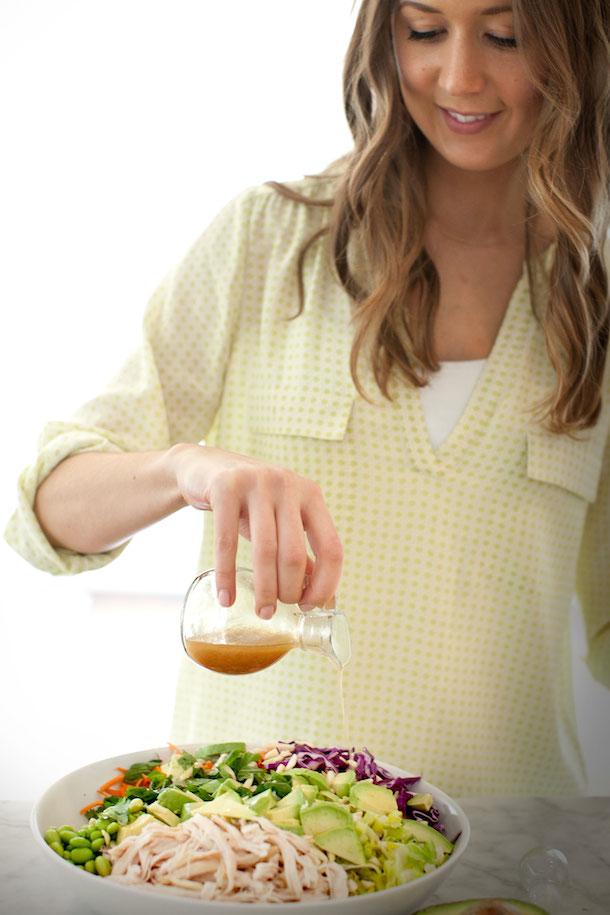 Asian Chicken Salad Recipe, photo by Kim Jones   Camille Styles