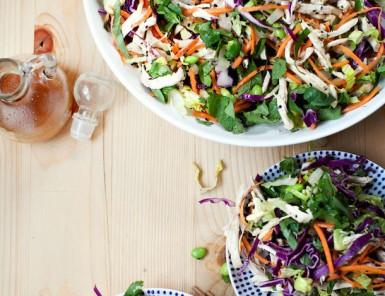 Asian Chicken Salad Recipe, photo by Kim Jones | Camille Styles