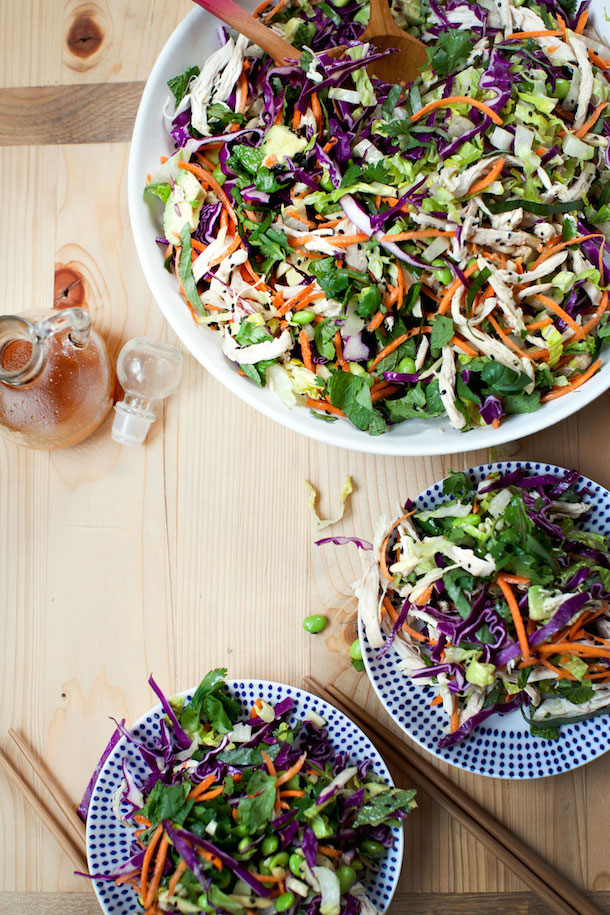 Asian Sesame Chicken Salad Camille Styles