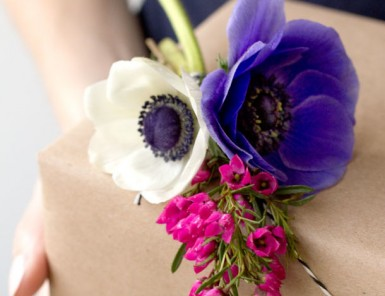 Mother's Day Gift Ideas | Flower Packaging by Studio DIY | Camille Styles