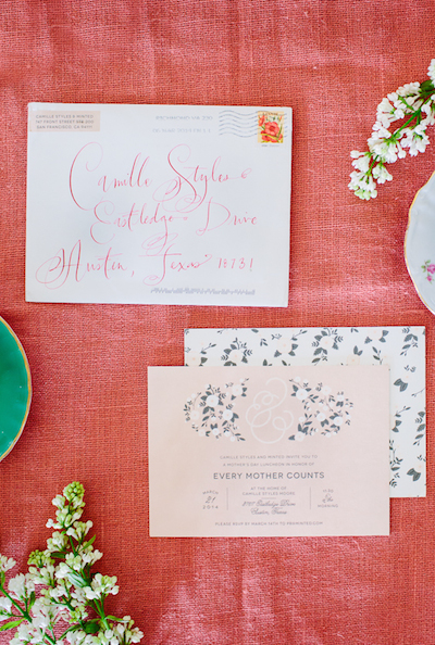 Mother's Day Brunch with Minted & Every Mother Counts, photo by Wynn Myers | Camille Styles
