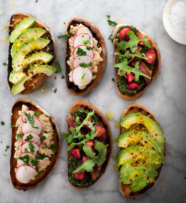 Tuesday Tastings :: Build-Your-Own Tartines - Camille Styles  Tuesday Tasting...