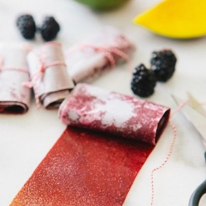 Blackberry Mango Fruit Leather | Sarah Yates for Camille Styles