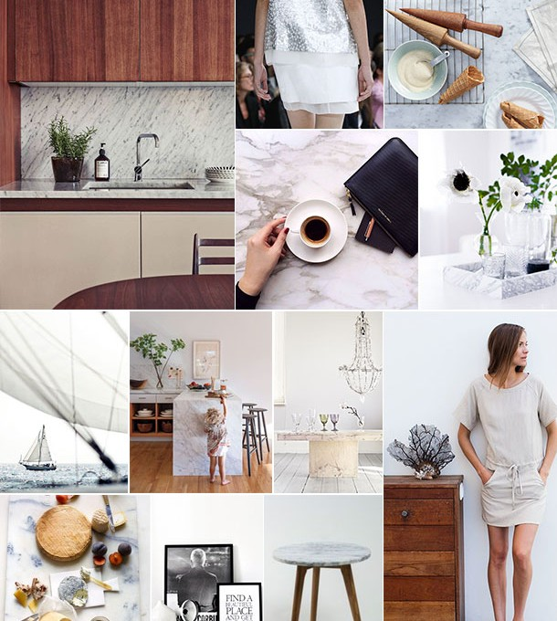 Marble & Wood Inspiration | Camille Styles