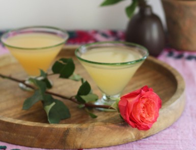Rose Tattoo Cocktail Recipe with Camarena Tequila | Camille Styles