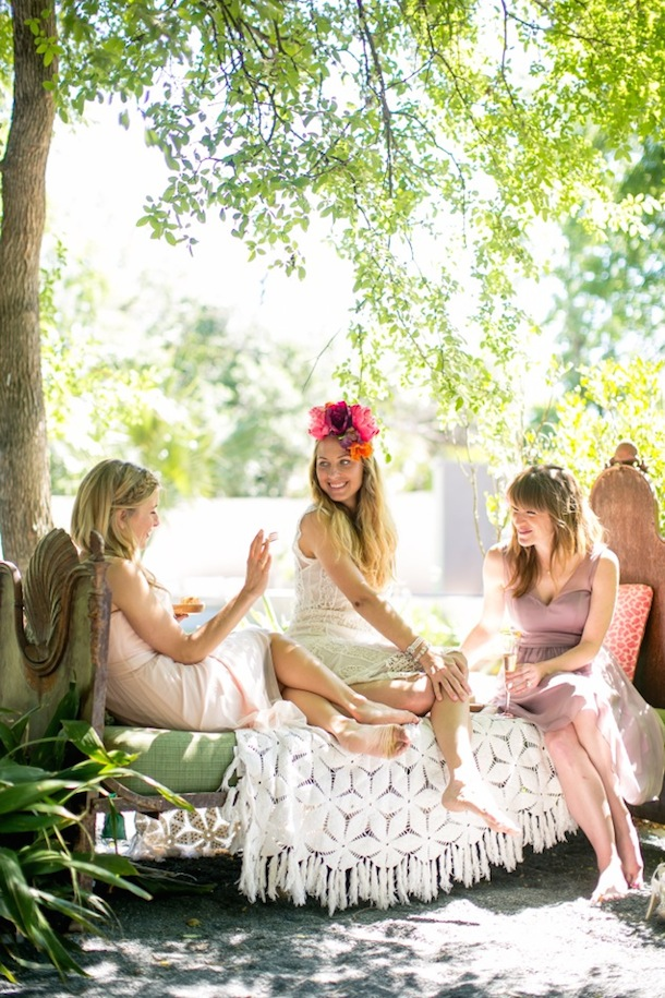 BHLDN Desert Romance Bridal Shower for Camille Styles | Photography by The Nichols