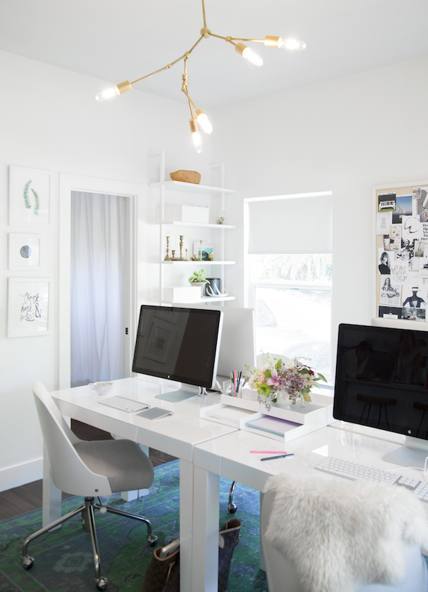 Camille Styles Office, photo by Jessica Pages