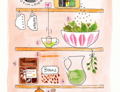 What's On Hand | Kim Love | Illustration by Kelly Colchin for Camille Styles