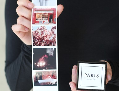 DIY Tiny Travel Album in a Box with Canon USA | Camille Styles