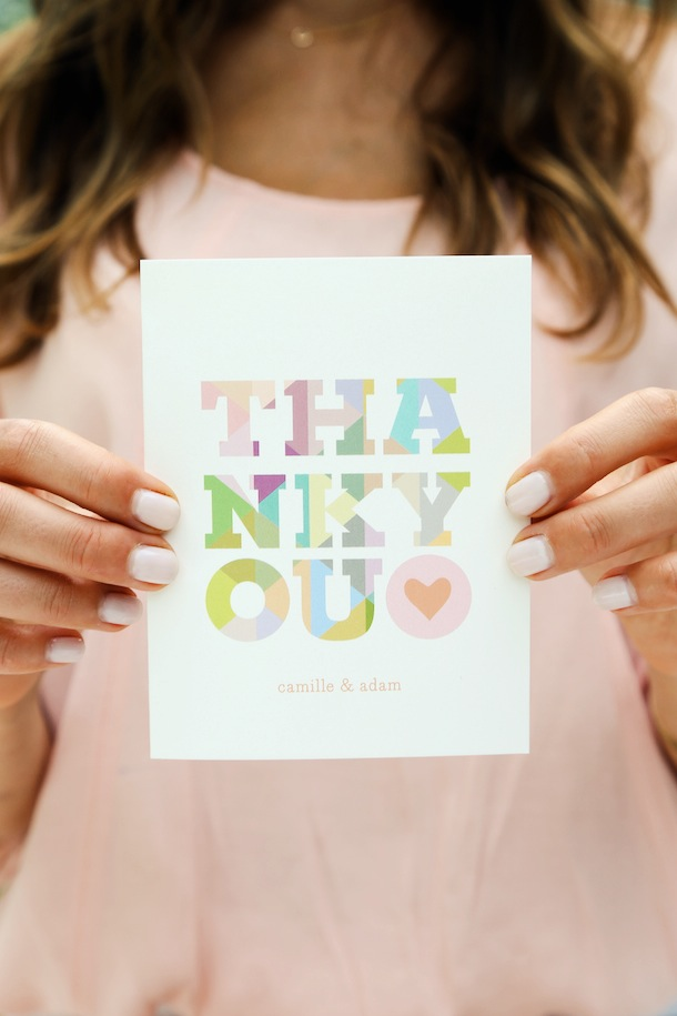 How to Write a Thank-You Note - Camille Styles