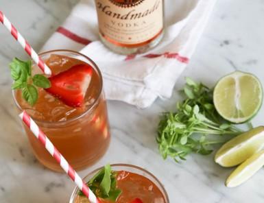 Kombucha Cocktail | Camille Styles