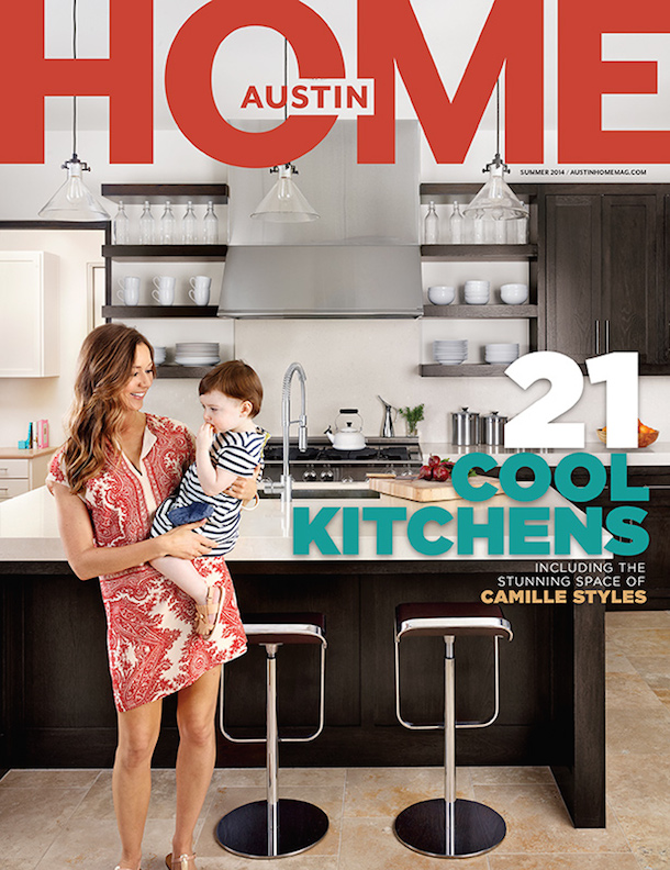 Camille Styles in Austin Monthly Home | Photography by Casey Dunn