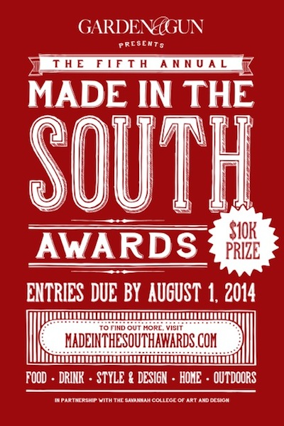 Garden & Gun's Made in the South Awards