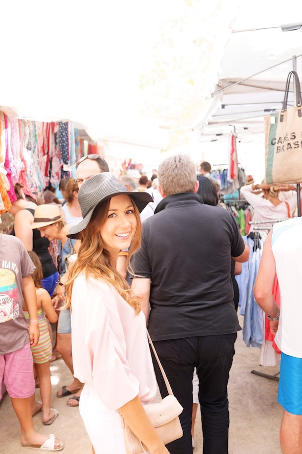 Camille Styles & ASOS in St Tropez