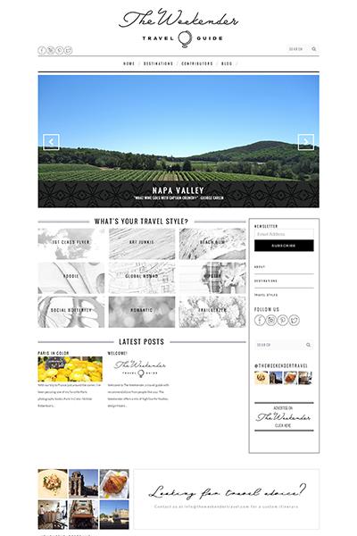 The Weekender Homepage